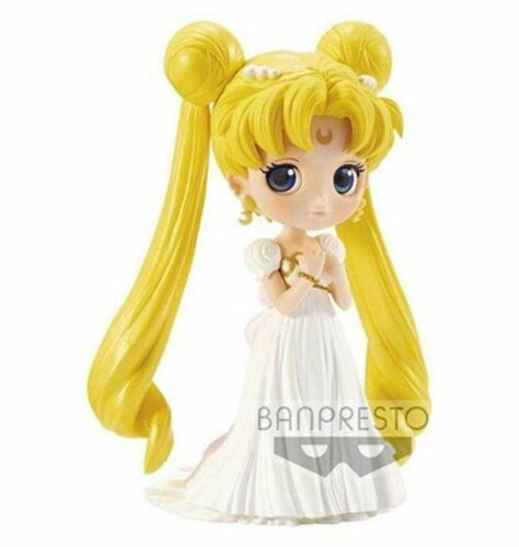Sailor Moon Princess Serenity Pretty Guardian Q-Posket Statue Anime Kawaii NIB