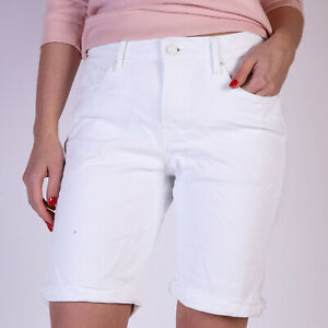 Levi-039-s-Weiss-Denim-Damen-Shorts-DE-38-US-W30