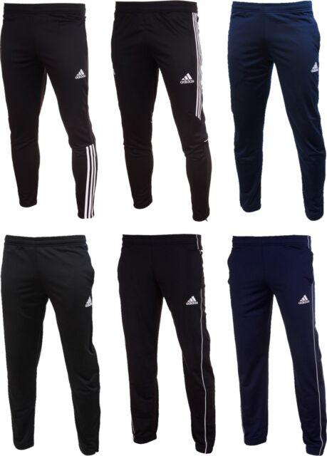 Adidas Para Hombre Pantalones De Ajuste De Futbol Core 18 Tiro 17 Tango Regista Entrenamiento Chandal