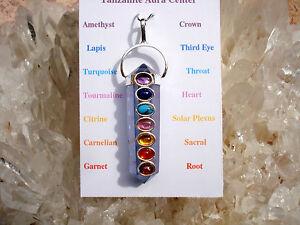 Chakra-Pendant-in-Tanzanite-Lavender-Aura-Quartz-7-Gemstones-Best-Price-Ever