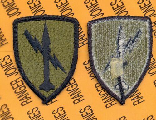 US Army Missle Command OD Green /& Black uniform patch m//e