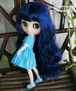 8-034-Neo-Middie-Blythe-Doll-Nude-Doll-From-Factory-Drak-Blue-Hair