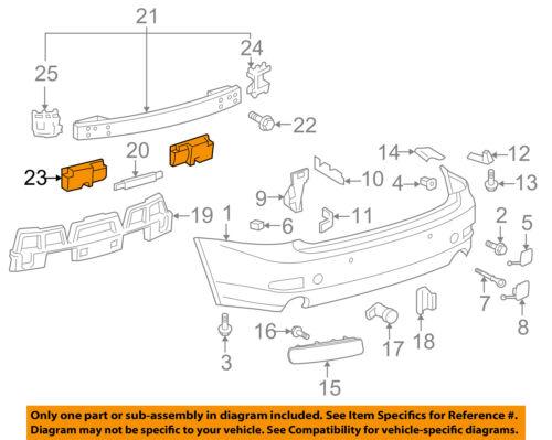 Lexus TOYOTA OEM 06-13 IS250 REAR BUMPER-Outer Reinforcement Left 5218853020