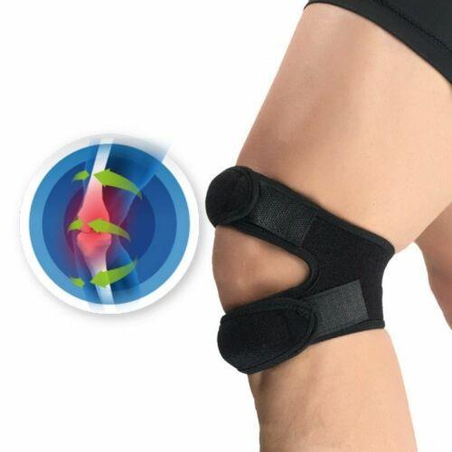 Pressurized Knee Wrap Hole Kneepad Knees Braces Sport Sleeve Elastic Bandage Pad