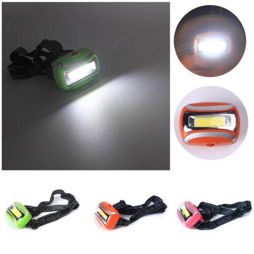 Bright Head Torch with Headband COB LED Lighting Head Lamp Fishing *1pc lsk y4r