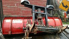 """WESTERN ULTRAMOUNT PLOW SNOW PLOW SETUP 7' 6""""  WITH PUMP LIGHTS CHEVY FORD DODGE"""