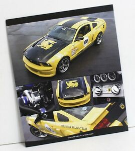 Details about 2006 Carroll Shelby Terlingua Ford Mustang Racing Brochure  SVT 2005 Muscle Car