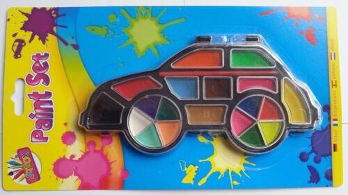 Children Kids Fun Art Craft Paint Painting Set Rocket Car /& Boat