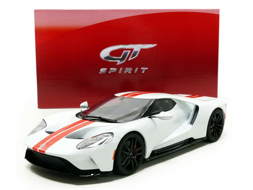 Gt Spirit 2017 Ford biancao   rosso en 1 18 Escala Le de 1500 Nueva Versión Stock
