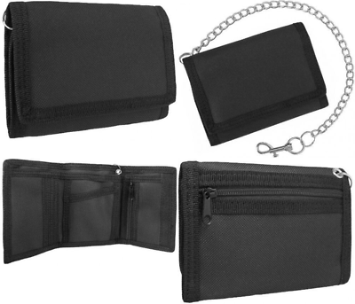 100% Wahr Fabric Security Wallet With Chain Uk Post Free Kaufe Jetzt