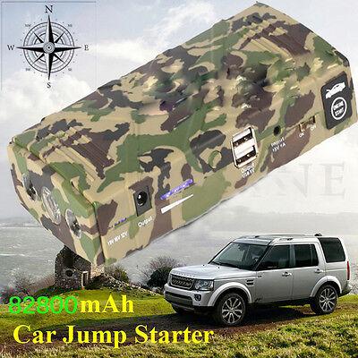 82800mAh 12V Car Jump Starter Emergency Charger Booster Power Bank Battery SOS