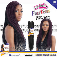 Freetress Braid Single Twist Small Bulk Crochet Senegal Braiding Hair