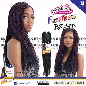 Image Is Loading Freetress Braid Single Twist Small Bulk Crochet Senegal