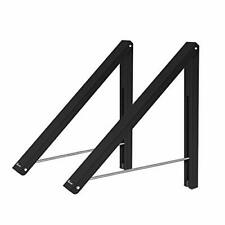 Anjuer Laundry Room Wall Mounted Drying Rack Clothes Hanger Folding Wall Coat