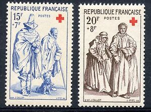 stamp-TIMBRE-FRANCE-NEUF-N-1140-1141-CROIX-ROUGE-COTE-11-50