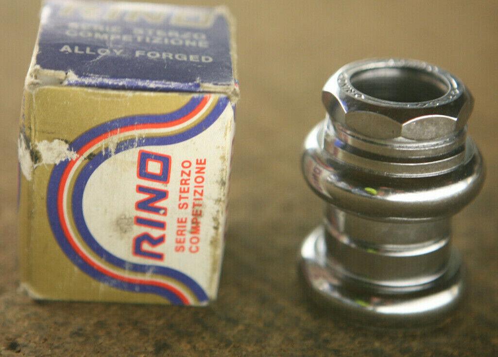 De colección Reedición Nuevo En Caja italiano Rino Competition 1   pulgadas roscado auricular de acero 26.4  Garantía 100% de ajuste