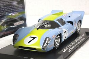 SLOTWINGS W004-02 LOLA T70 #7 LE MANS 1968 NEW 1/32 SLOT CAR IN DISPLAY