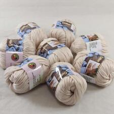 Lot of 8BallsX50g Chunky Cotton Special Smooth Scarf Hand Knitting Yarn PinkRose