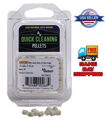Air Venturi Quick Cleaning Pellets .25 Cal 80 pieces # BN-3870 FREE SHIPPING!