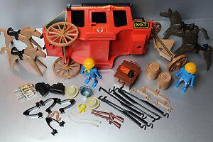 Playmobil ersatzteil aussuchen f r 3245 kutsche klicky western wells fargo 108 ebay - Playmobil kutsche ...