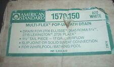 AMERICAN STANDARD 1570.150 Multi-Flex Pop-Up Bath Drain for 2706 Ellisse, etc