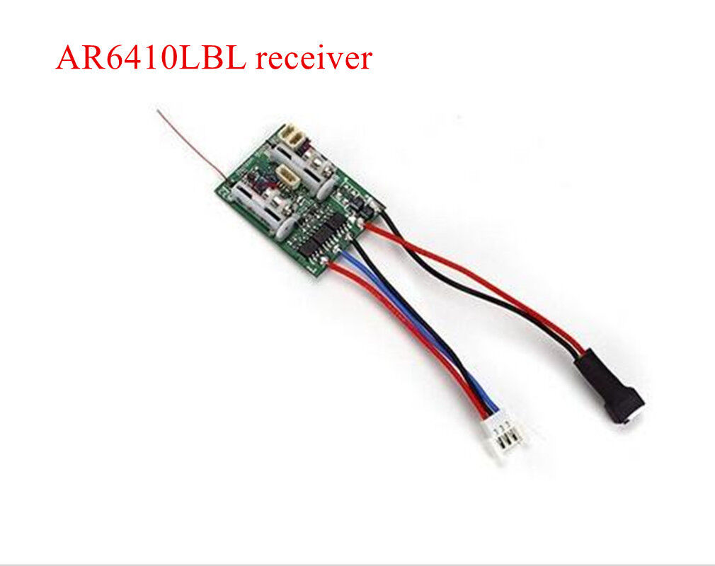 AR6410LBL DSMX 6-Ch Ultra Micro Receiver For micro & ultralight foamy aircraft