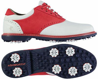 Ashworth Leucadia Tour Premium Chaussures De Golf RRP £ 150 Tailles UK8 UK11 en Stock | eBay