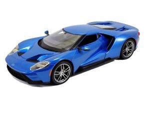 Maisto-1-18-2017-Ford-GT-SPECIAL-EDITION-Diecast-Model-Car-Blue-31384