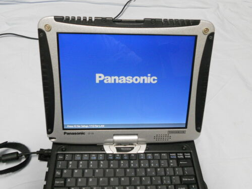 Panasonic CF-19 Tablet Toughbook Rugged 500gb Win 7 Professional Office 07 Tuff