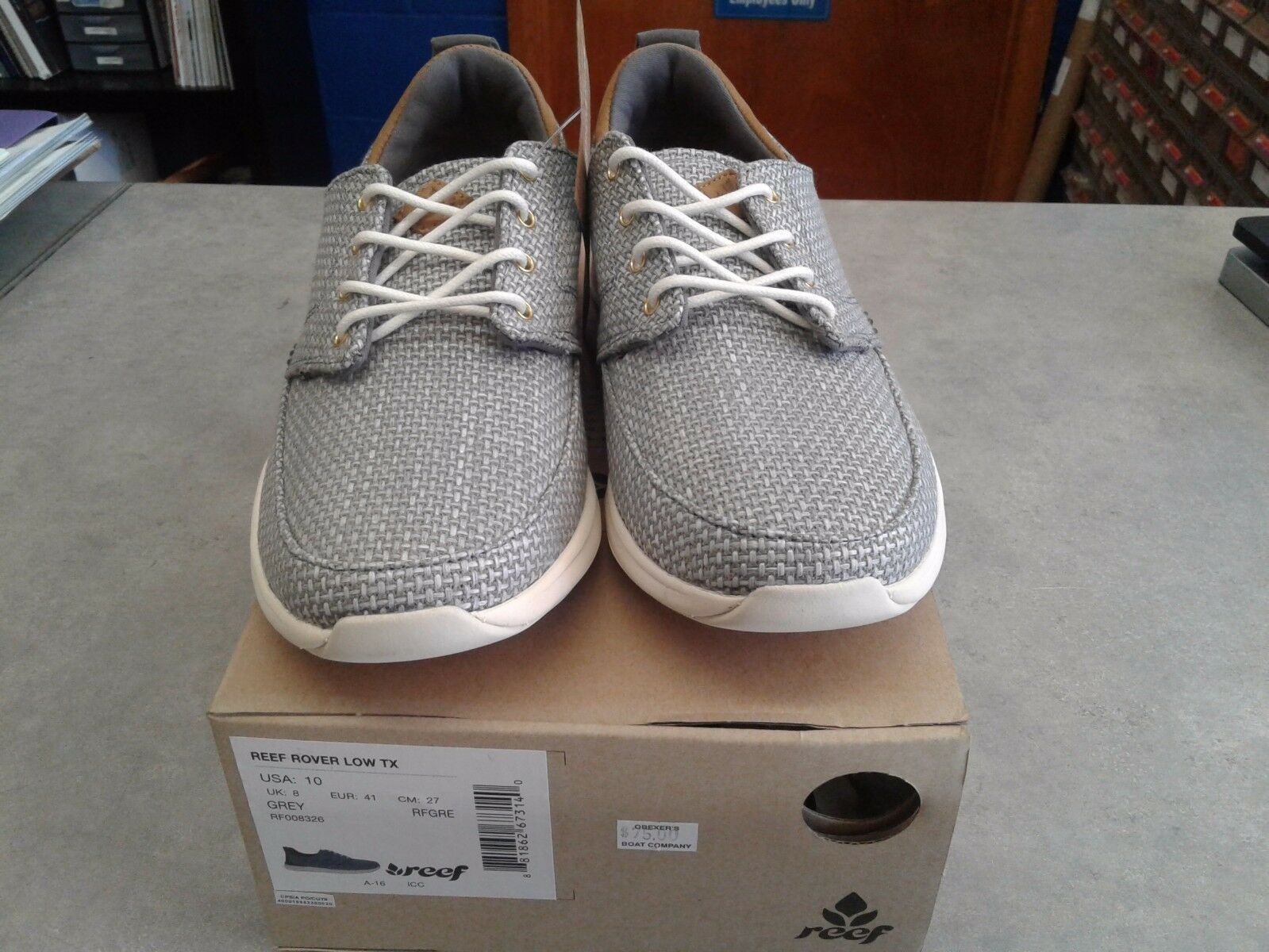 Reef Women's Rover Low TX size 9.5 Grey