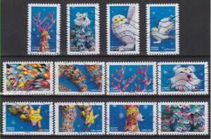 France-2019-les-12-timbres-du-Carnet-Mon-Fantastique-obliteres