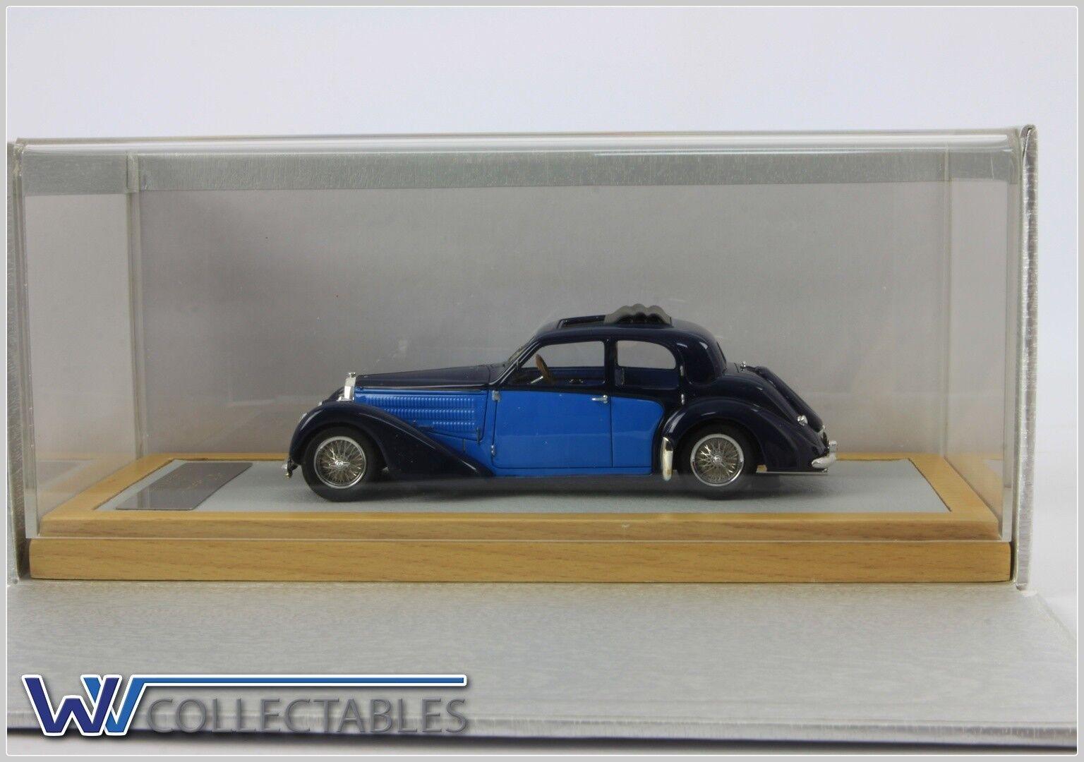 barato Bugatti Bugatti Bugatti t57 galibier 1937 sn57603 2 Tone 1 99 pieces ilario Chromes 1 43 cromático 054  servicio considerado