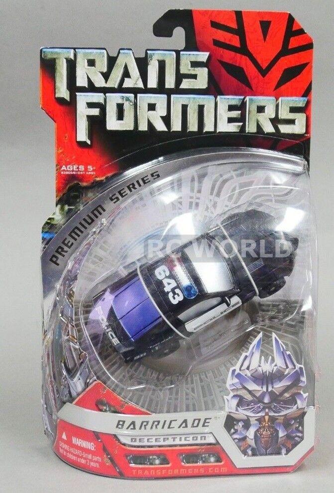 Transformers Premium Series BARRICADE Police Car  G4