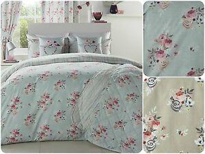 Dreams-amp-Drapes-PENELOPE-Floral-Bouquets-Bedding-Range-Duvet-Quilt-Cover-Set