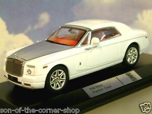 Superbe-Ixo-1-43-Moulage-sous-Pression-2008-Rolls-Royce-Spectre-Coupe-en-Blanc