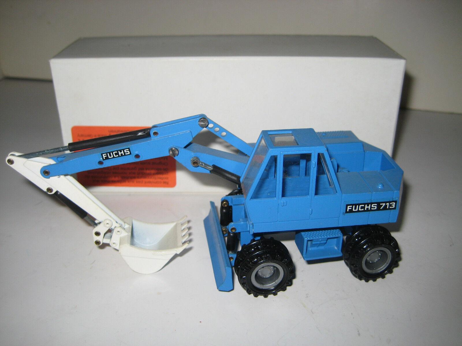 Fuchs 713 713 713 M Excavateurs tieflöffel mobile #165.3 NZG 1:50 neuf dans sa boîte | Vente  cc35bf
