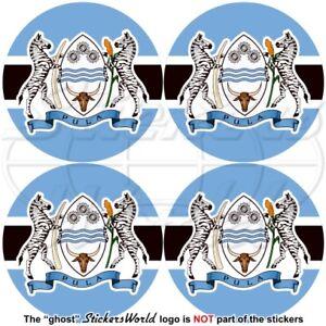 Botswana Bandiera-stemma Tondo Botswanien, 50mm Vinile Adesivo X4 Aeaaxdci-08003615-795983240