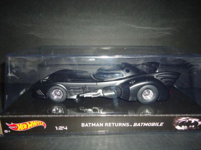 Hot Wheels Batmóvil 1989 Películas Serie 1/24