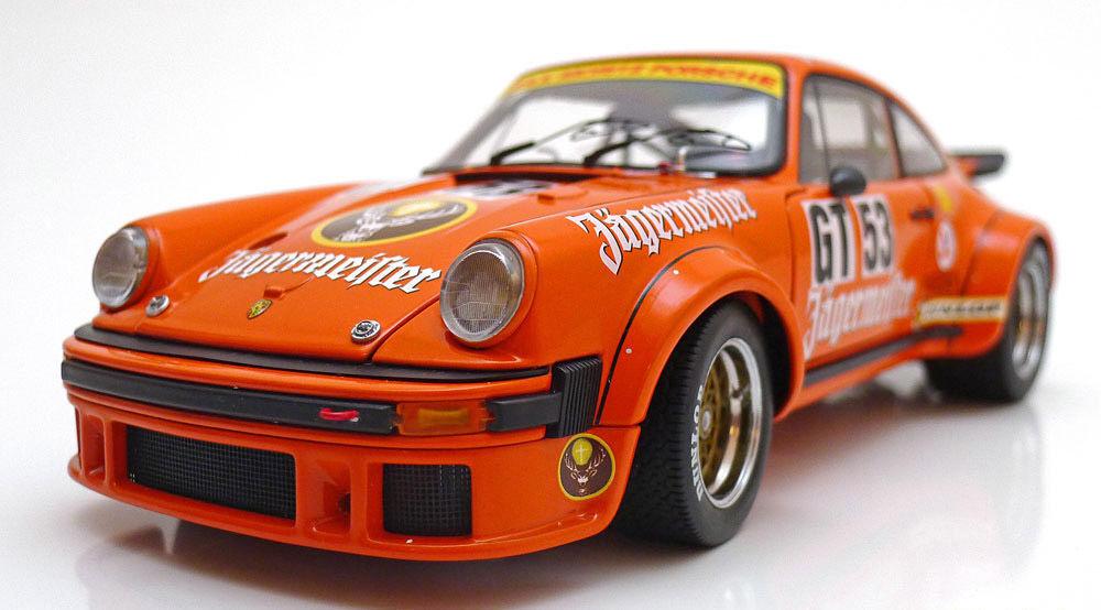1 18 Schuco 1976 PORSCHE 934 RSR   gt53 Nurburgring Jagermeister Kellener