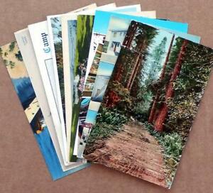 1910s-1960s WASHINGTON State motel/roadside postcards (9) Seattle Tacoma Spokane