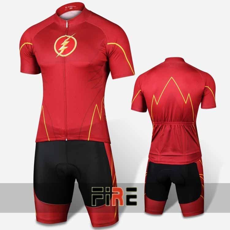 G-LIKE verde Lantern Cycling Clothing X-Men Bike Jersey & Short Set Sz M-XL