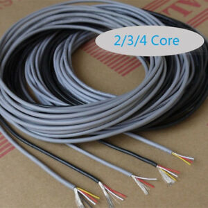 UL 2547 2/3/4 Core Copper Wire Shielded Audio Headphone Signal Cable ...