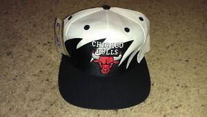 8f94cfb7910 Image is loading Chicago-Bulls-Logo-7-Sharktooth-Vintage-1990s-Snapback-