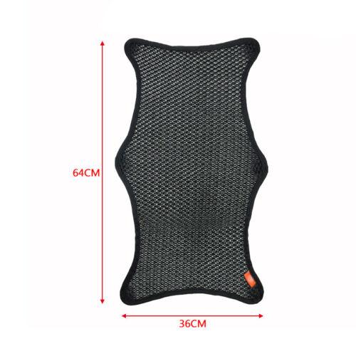 Waterproof Motorcycle Cushion Seat Cover Net Anti-slip XL 36CM*64CM Breathable