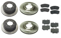 Toyota Land Cruiser 93-97 L6 4.5l Complete Brake Kit Front + Rear Pads & Rotors on sale