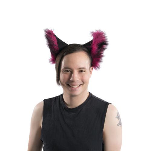 Furry Costume Cosplay Fox Blue fur 3007 PAWSTAR Realistic Wolf Ears Headband