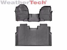 WeatherTech FloorLiner for Ford F-150 SuperCrew w/ Bench - 2015-2017 - Black