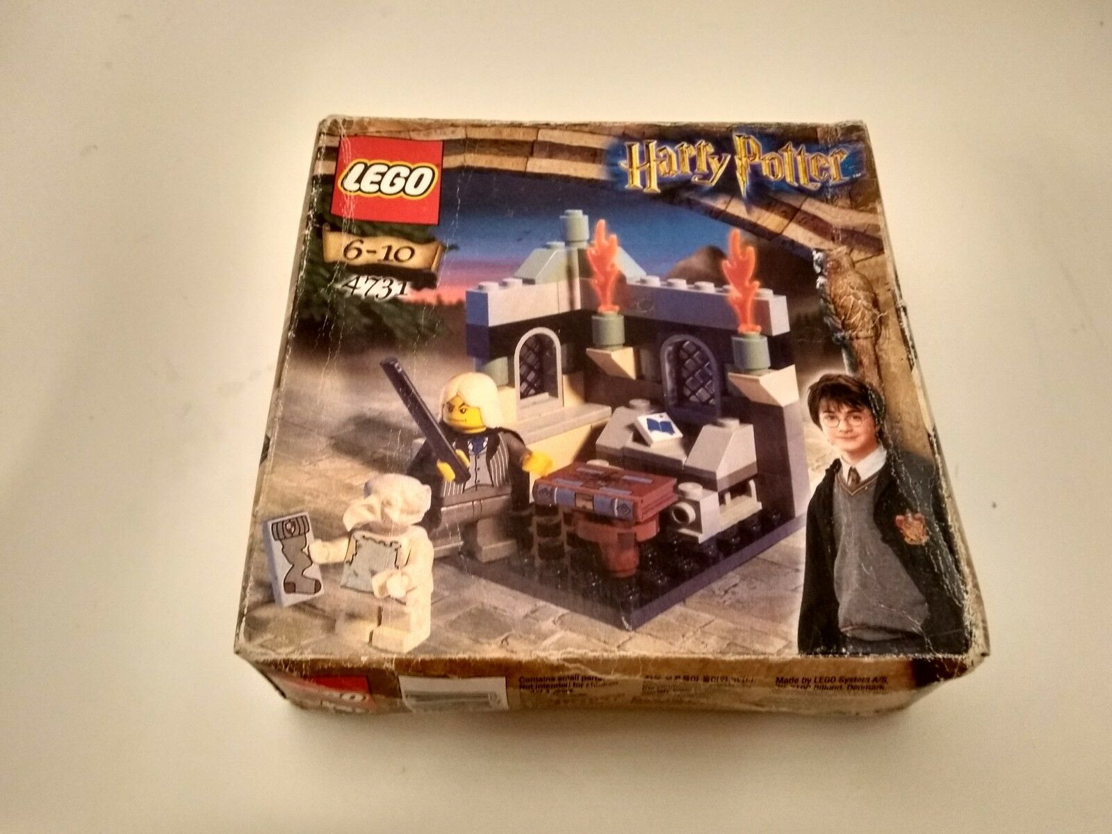 NEW LEGO Harry Potter Dobby's Release 4731 - - - Made in DENMARK 2002 2a9638