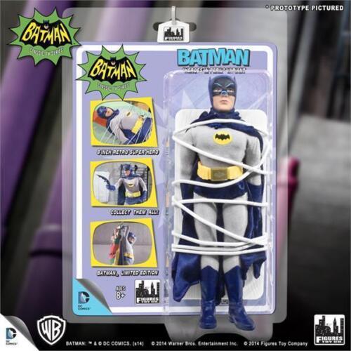 BATMAN 1966 TV SERIES BATMAN TIED UP HEROES IN PERIL 8 INCH FIGURE  ADAM WEST