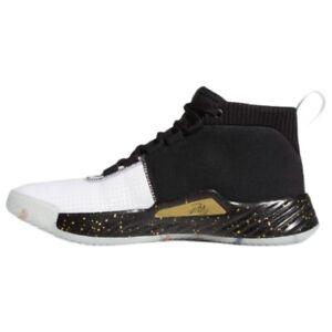 Size 13.5 Black Gold Metallic White